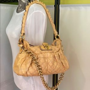 Marc Jacobs Julianne Yellow Patent Leather Bag